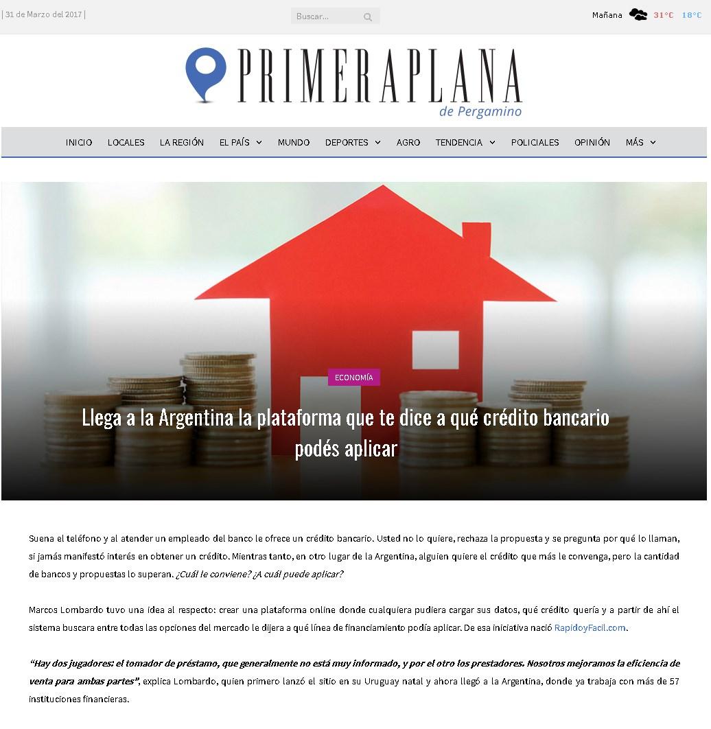 Revista Primera Plana Argentina